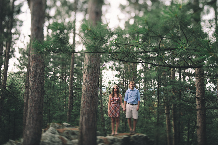liz + ethan | castle mound engagement session