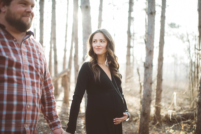 of joy and loss and hope and life | brooke + mitch | a maternity story