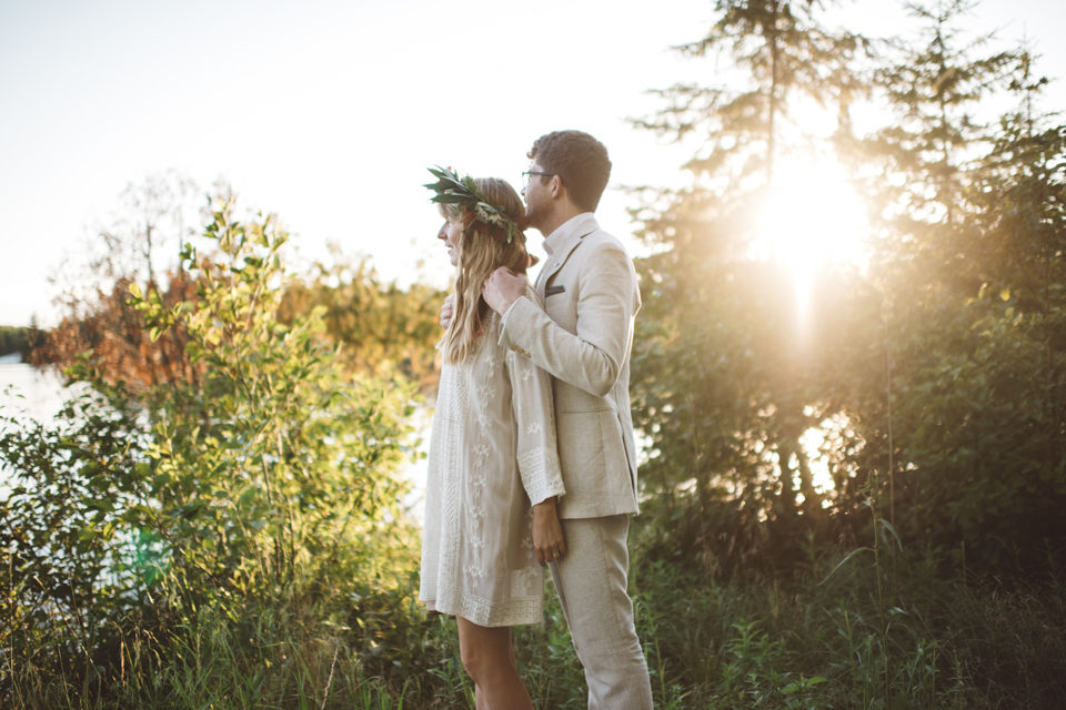love is woods and water and weekends and wine. love is kate + christian's northwoods wedding.