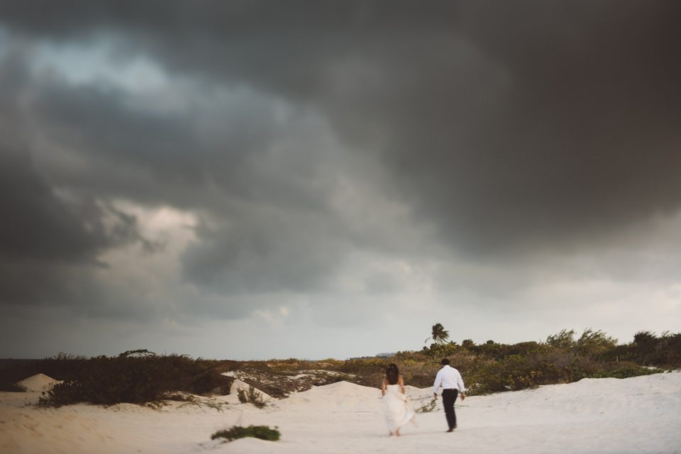 love is beaches and wind and sunsets and dance parties that last all night. love is andrea + kyle's mexico wedding